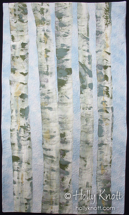 Birch Grove 2 Holly Knott Contemporary Art Quilter