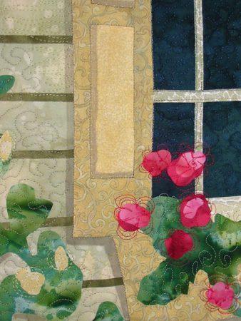 New Hope Window, closeup