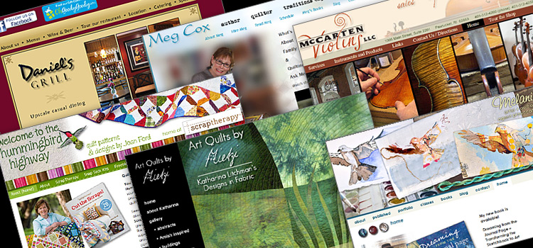 Holly Knott - Website Design