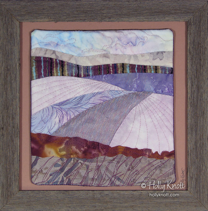 Holly Knott - Contemporary art quilter, website designer and ... : snow quilts - Adamdwight.com
