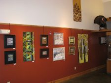Baltimore Woods, Marcellus, NY, exhibit - Holly Knott