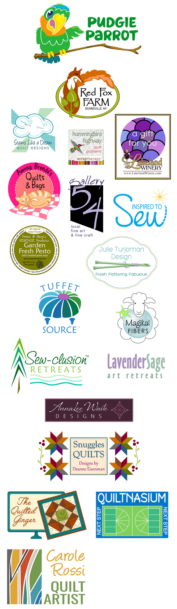 logos by Holly Knott